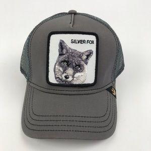 goorin bros Accessories - Goorin Bros Silver Fox Mesh Trucker Hat Cap 9726e4449cf